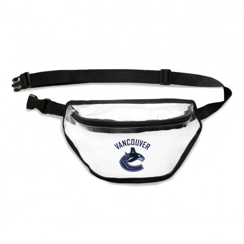 Vancouver Canucks Clear Fanny Pack