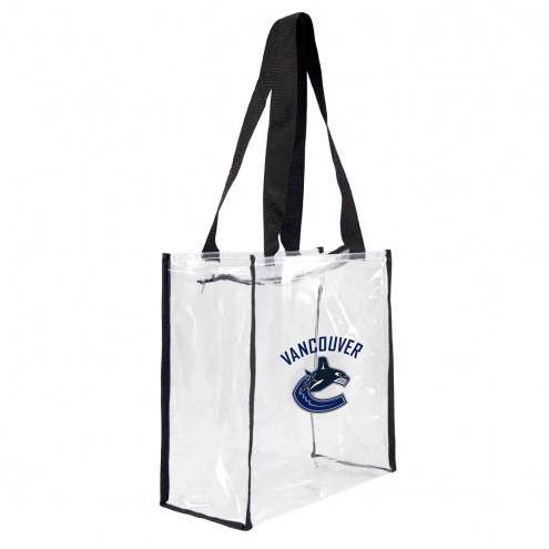 Vancouver Canucks Clear Square Stadium Tote