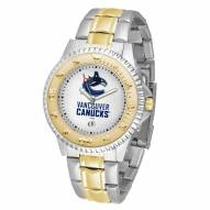 Vancouver Canucks Competitor Two-Tone Men's Watch