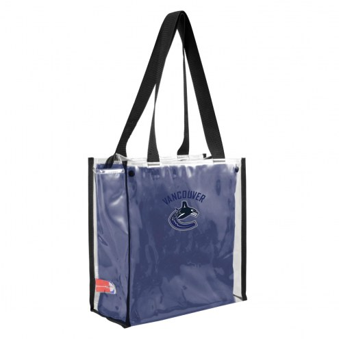 Vancouver Canucks Convertible Clear Tote