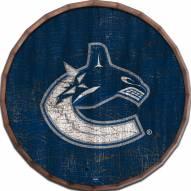 "Vancouver Canucks Cracked Color 24"" Barrel Top"