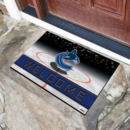 Vancouver Canucks Crumb Rubber Door Mat