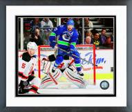 Vancouver Canucks Daniel Sedin Action Framed Photo
