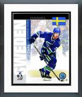 Vancouver Canucks Daniel Sedin Sweden Portrait Plus Framed Photo