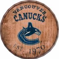 """Vancouver Canucks Established Date 16"""" Barrel Top"""