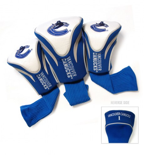 Vancouver Canucks Golf Headcovers - 3 Pack