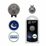 Vancouver Canucks Hat Clip & Marker Set