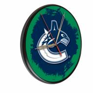 Vancouver Canucks Digitally Printed Wood Clock