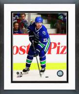 Vancouver Canucks Henrik Sedin Action Framed Photo