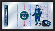 Vancouver Canucks Hockey Rink Mirror