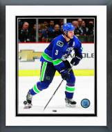Vancouver Canucks Kevin Bieksa Action Framed Photo