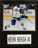"Vancouver Canucks Kevin Bieska 12"" x 15"" Player Plaque"