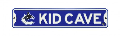 Vancouver Canucks Kid Cave Street Sign