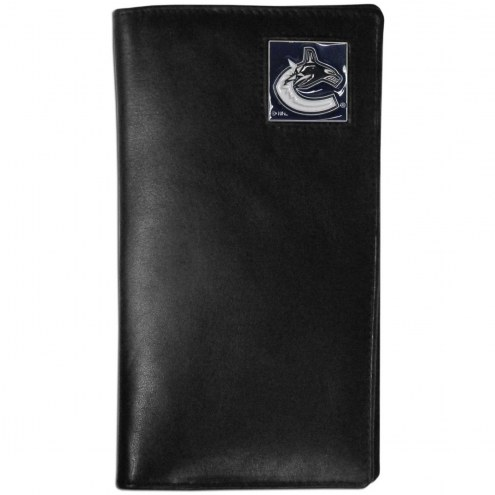 Vancouver Canucks Leather Tall Wallet
