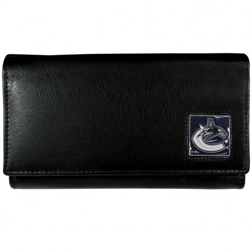 Vancouver Canucks Leather Women's Wallet