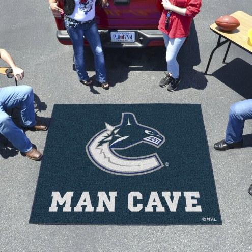 Vancouver Canucks Man Cave Tailgate Mat