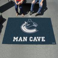 Vancouver Canucks Man Cave Ulti-Mat Rug