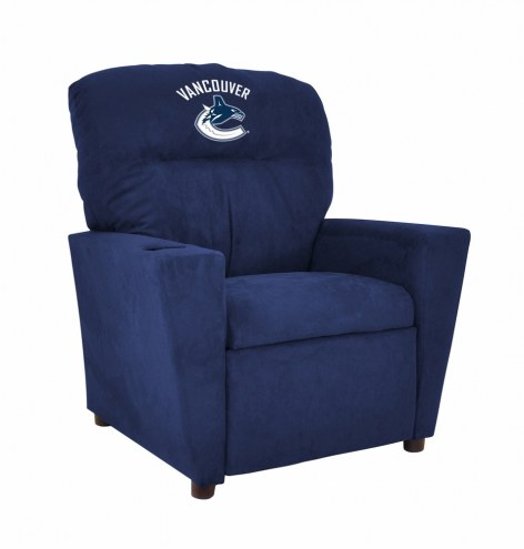 Vancouver Canucks Microfiber Kid's Recliner