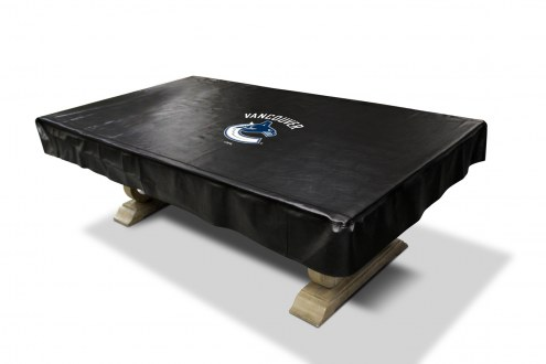 Vancouver Canucks NHL Pool Table Cover