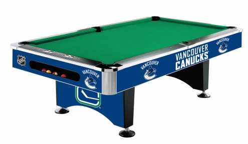 Vancouver Canucks NHL Pool Table