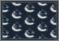 Vancouver Canucks NHL Repeat Area Rug