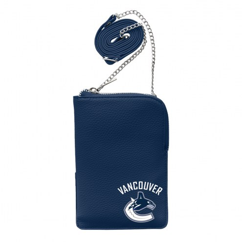 Vancouver Canucks Pebble Smart Purse