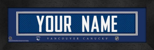 Vancouver Canucks Personalized Stitched Jersey Print