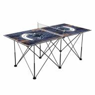 Vancouver Canucks Pop Up 6' Ping Pong Table