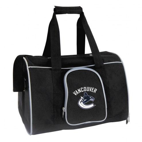 Vancouver Canucks Premium Pet Carrier Bag