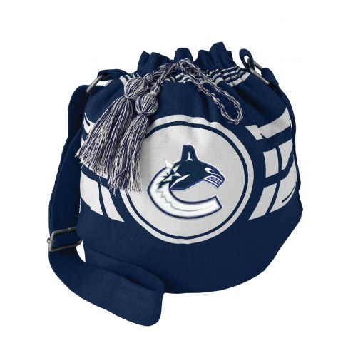 Vancouver Canucks Ripple Drawstring Bucket Bag