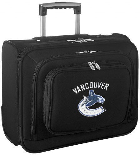 Vancouver Canucks Rolling Laptop Overnighter Bag