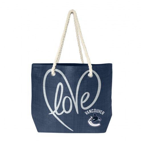 Vancouver Canucks Rope Tote