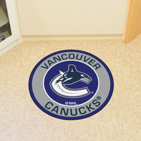 Vancouver Canucks Rounded Mat