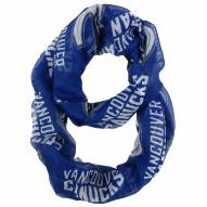Vancouver Canucks Sheer Infinity Scarf
