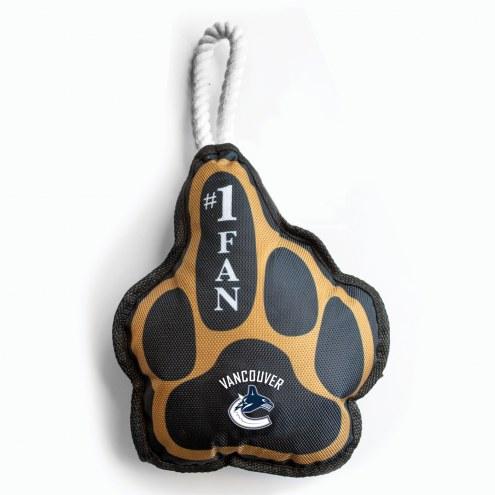 Vancouver Canucks Super Fan Dog Toy