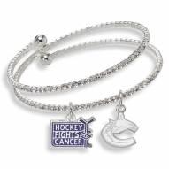 Vancouver Canucks Support HFC Crystal Bracelet