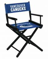 Vancouver Canucks Table Height Director's Chair