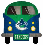 Vancouver Canucks Team Bus Sign