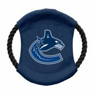 Vancouver Canucks Team Frisbee Dog Toy