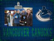 Vancouver Canucks Team Name Clip Frame