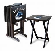Vancouver Canucks TV Trays - Set of 4