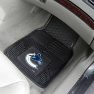 Vancouver Canucks Vinyl 2-Piece Car Floor Mats