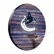 Vancouver Canucks Weathered Design Hook & Ring Game
