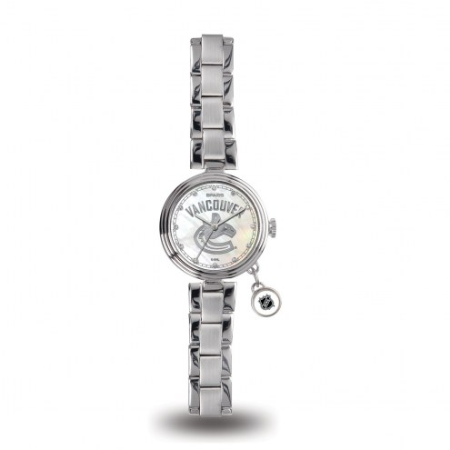 Vancouver Canucks Women's Charm Watch