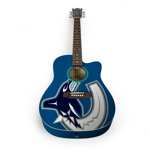Vancouver Canucks Woodrow Acoustic Guitar