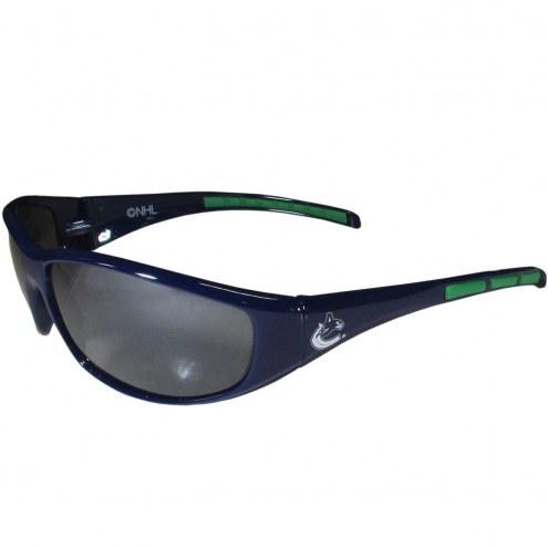 Vancouver Canucks Wrap Sunglasses