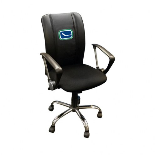 Vancouver Canucks XZipit Curve Desk Chair with Alternate Logo