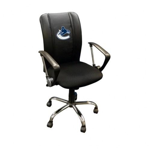 Vancouver Canucks XZipit Curve Desk Chair