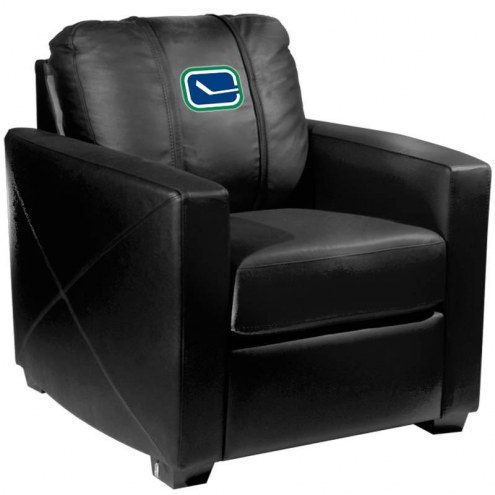 Vancouver Canucks XZipit Silver Club Chair with Alternate Logo
