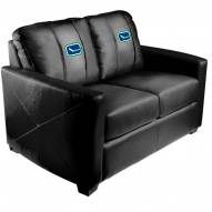 Vancouver Canucks XZipit Silver Loveseat with Alternate Logo